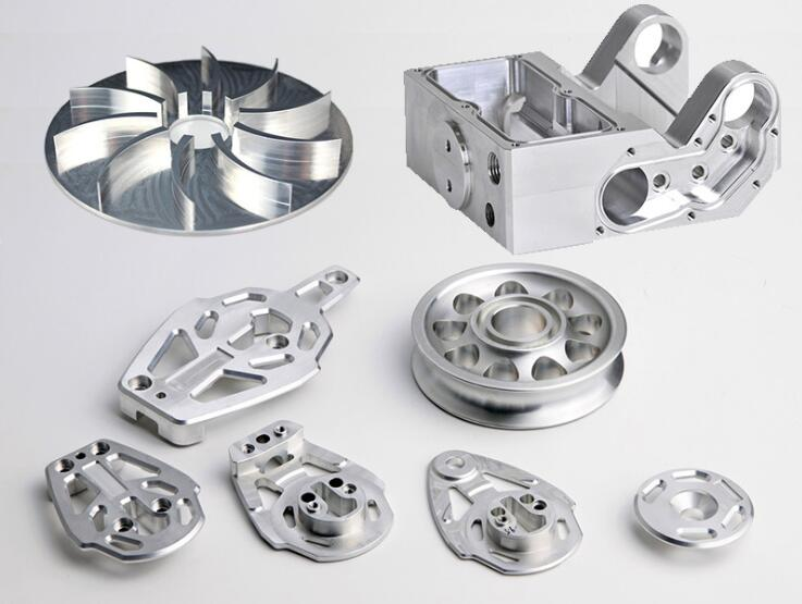 CNC Parts Precision Turning Parts Rapid Aluminum Prototype